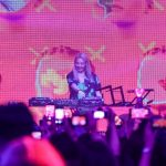 DJ Hyo brought the party with her