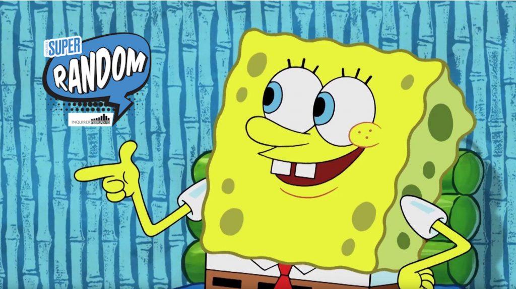 'Super Random' asks why Spongebob can speak Filipino