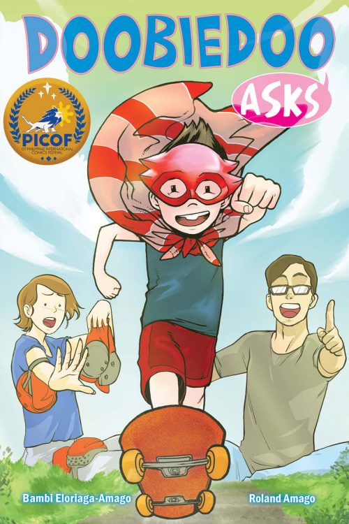 """""""Doobiedoo Asks"""" by Bambi Amago and Roland Amago comic book cover"""