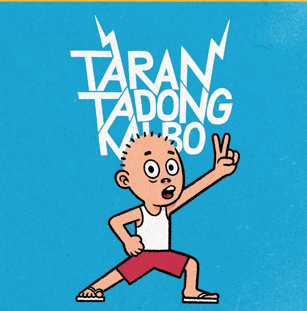 Tarantadong Kalbo comic book cover