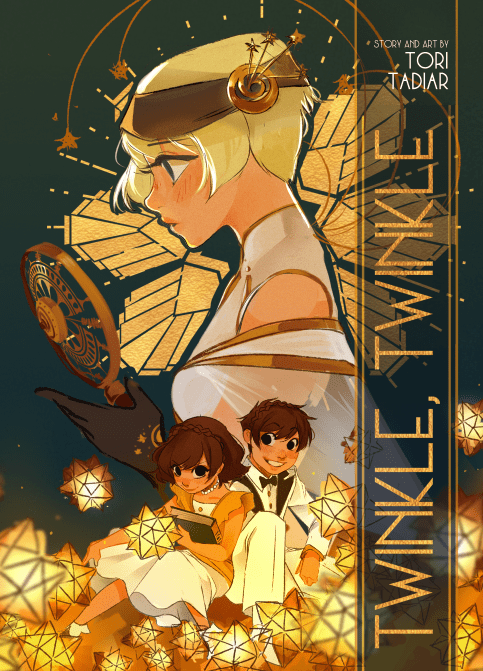 """Twinkle, Twinkle"""" by Tori Tadiar comic cover"""