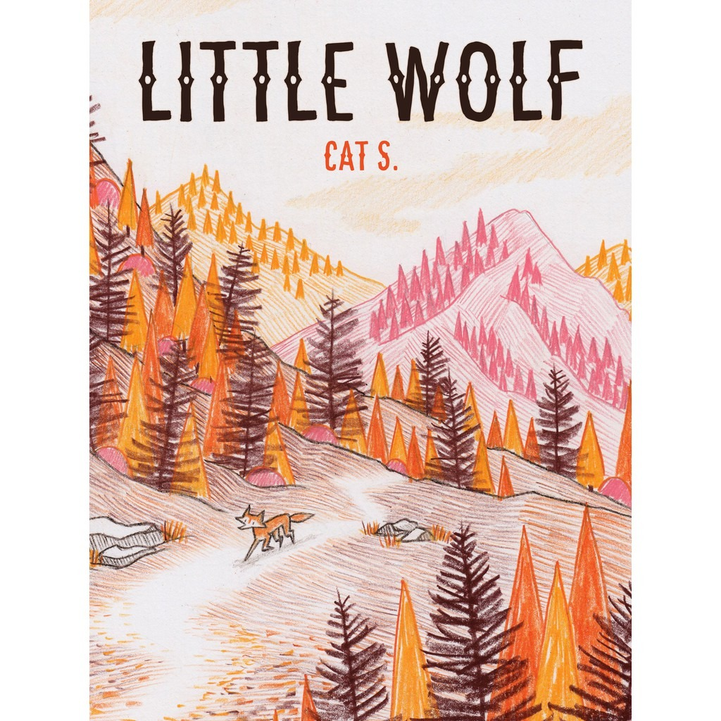 """Little Wolf"""" by Cat S. comic book cover"""