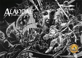 """Alandal"" by Jay Ignacio and Alex Niño comic book cover"